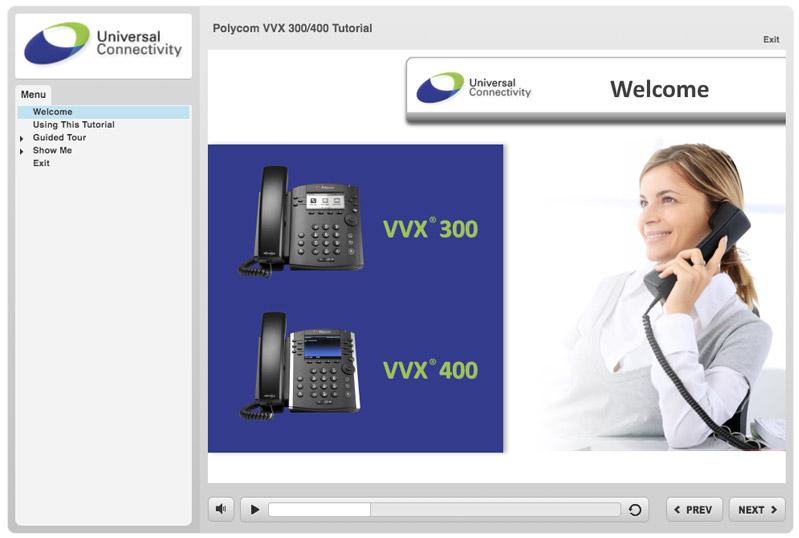 Polycom VVX 300/400
