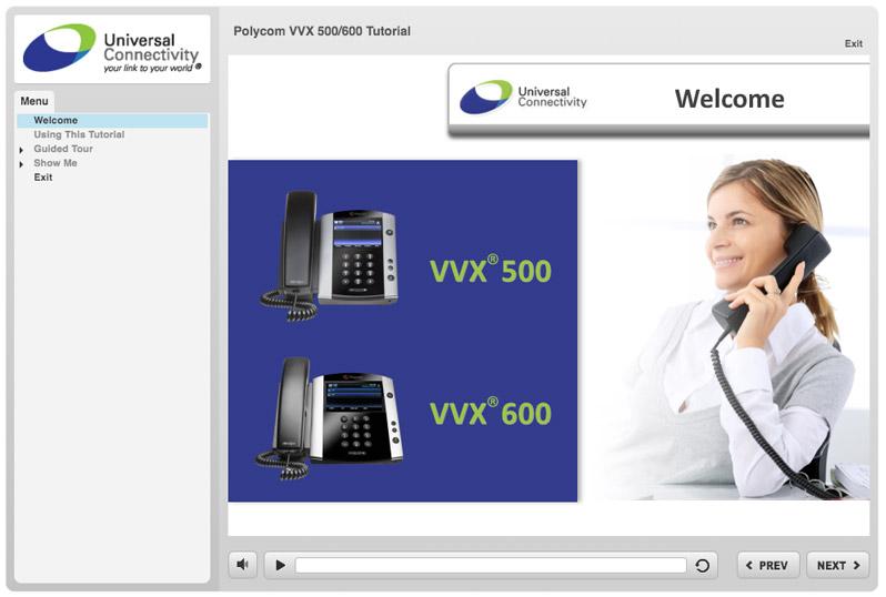 Polycom VVX 500/600